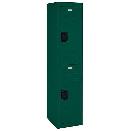 Lockers Steel 2 Tier - Sandusky Lee LF2B151866-08 2 Tier Welded Steel Storage Locker, 66