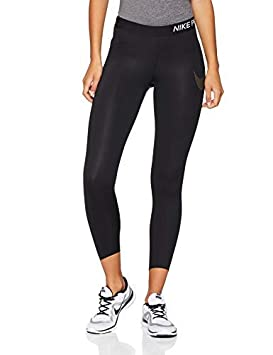 Crop Pour Xl Blackblack 78 Collant Nike Femme metallic Training QCBtohxsrd