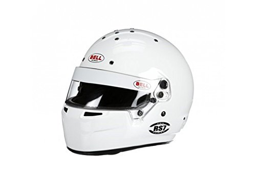 (Bell Racing RS7 KART WHITE XL (61+) K2015 V.15 BRUSA HELMET)
