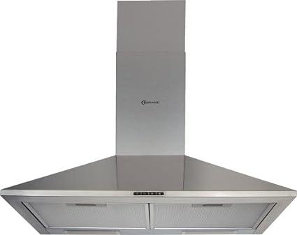 Bauknecht dkm 1363 in dunstabzugshaube 60 cm 412 m3 h metall