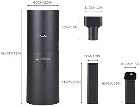 HL-TD Aspirateur De Voiture sans Fil De Poche Aspirateur sans Fil Portable À Double Usage USB Rechargeable Multifonctionnel