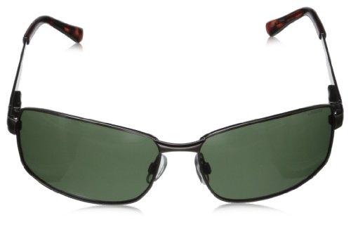 Rectangulares hombre Pz de para P4416 Dark Gun Polaroid Gris Gafas sol Green WtnASx