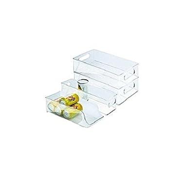 Interdesign 4-Piece Fridge and Freezer Storage Bins