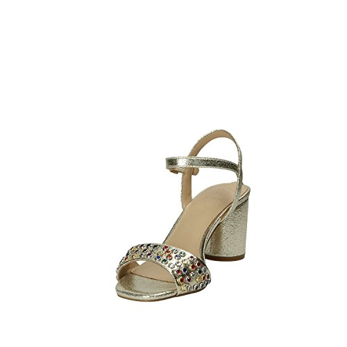 LEM03 tacco FLLOR1 Donna Guess oro Sandalo awUH7FY