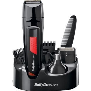 Governare BaByliss for Men 7056DU Titanium Grooming Kit With Moustache Comb acropolebits
