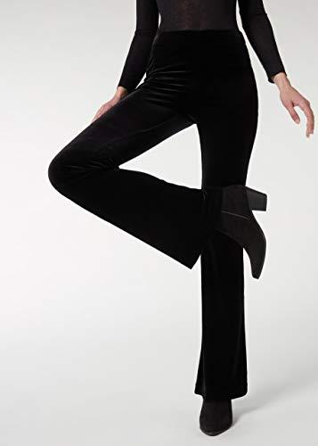 CALZEDONIA Femme Legging flare en velours
