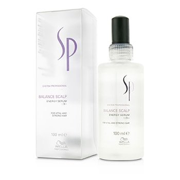 Wella - Wella SP Balance Scalp Energy Serum (For Vital and Strong Hair) - 100ml/3.4oz