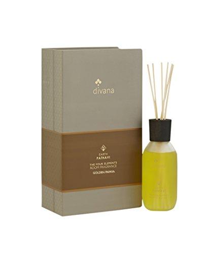Divana Four Element Roomfragrance (Earth) : Golden Papaya Medium Silver by Divana