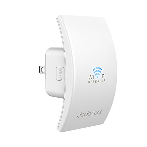 WiFi Range Extender dodocool N300 Wall Mounted Wireless Signal Booster Surpport AP/Repeater Mode with RJ-45 Port by dodocool