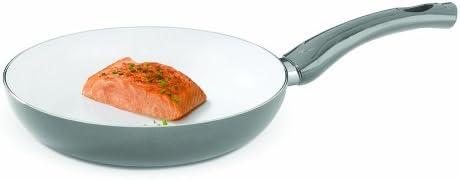 Bialetti 07263 Aeternum Easy Fry Pan, 10-inch, Silver