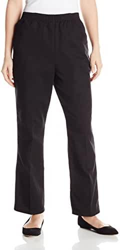Chic Classic Collection Women's Petite Denim Pull on Pant