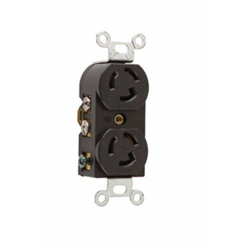 Legrand-Pass /& Seymour P/&S 4700 Turnlok Duplex Receptacle 3-Way 15A 125V
