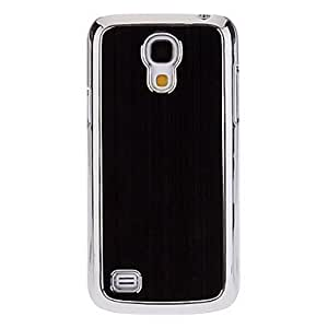 TOPQQ Brushed Solid Color Hard Case for Samsung Galaxy S4 Mini I9190 (Assorted Colors) , Silver