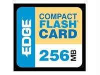 Edge Memory 256Mb Edge Premium Compact Flash Card (Cf) Pe179472 - By