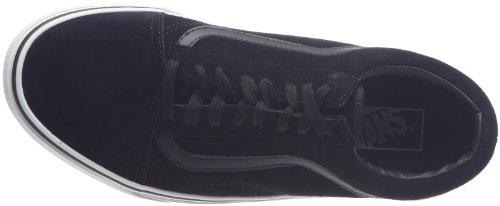 Vans Old Skool 2 - Zapatillas de skate unisex Negro (Noir ((Suede) Black))
