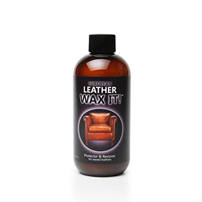 Wax It - One Step Protector and Rejuvenator for Waxed and Pull-up Leather - 8 Oz: Automotive
