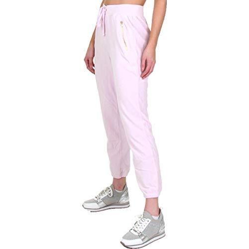 (Juicy Couture Black Label Silverlake Womens Velour Jogger Pants Pink Size XS)