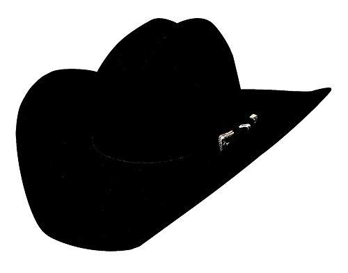 Justin Moore Montecarlo Bullhide Hats Back Roads 6X Premium Wool Felt Western Cowboy Hat (7 3/8) from Bullhide Hats