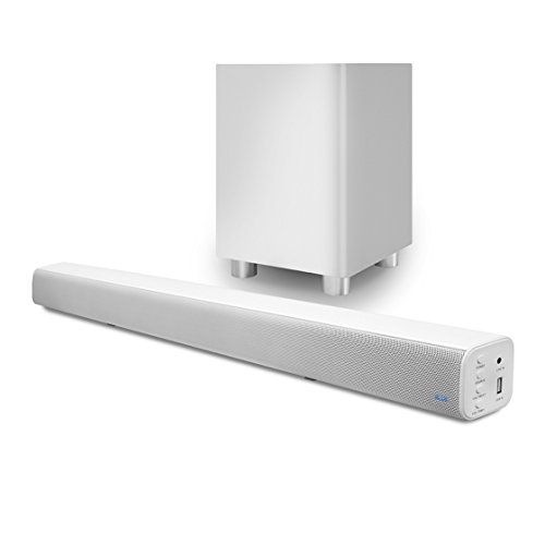 Pure Acoustics Wireless Surround Bar and Subwoofer - Sound Acoustic Bar