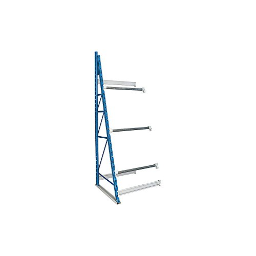 Hallowell Shelving, 8 Ft 3 In H - Reel Rack With 3 Axle Bracket Pairs - Adder, Rr-Dg-Ba, W X D X H: 48 X 36 X 99