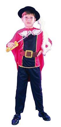 El Carnaval Disfraz Mosquetero Talla de 4 a 6 años niño Infantil ...