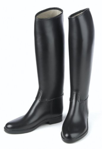 Ovation Derby/Cottage - Child's Lined Rubber Riding Boot -Child 3 (Black)
