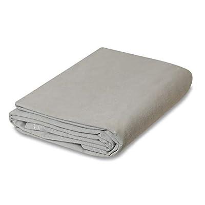 Grey Canvas Tarp (10 feet x 12 feet)