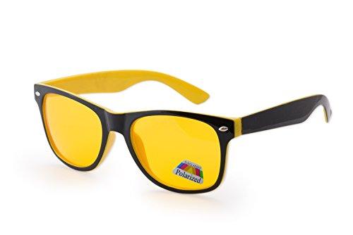 Black de sol Gafas Polarized Yellow hombre para morefaz Zx4Yqwz7