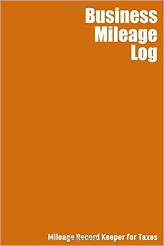 amazon com business mileage log mileage record keeper for taxes