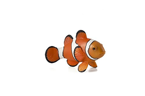 Mojo Fun 387090 Clown Fish - Realistic Sea Life Marine Toy Replica