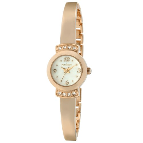 Peugeot Women's 7092RG Analog Display Japanese Quartz Rose Gold Watch