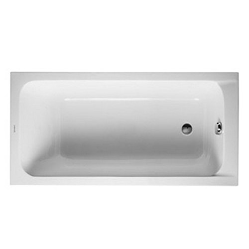 (Duravit 700095000000092 Bathtub D-Code 1500x750mm white US-version, single packed, Large - LTL,)