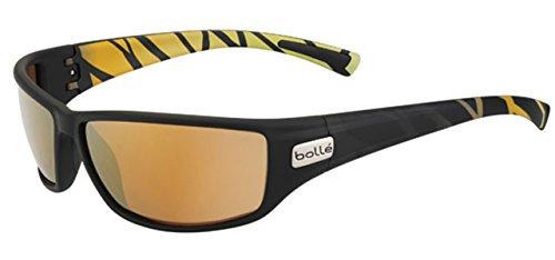 Bolle Python Sunglasses, Polarized Inland Gold Oleo AR, M...
