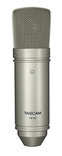 Tascam TM-80 Large Diaphagm Condenser Microphone by Tascam