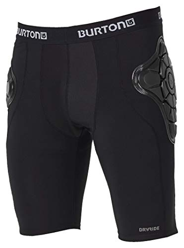 (Burton Men's Total Impact Short, True Black, X-Large)