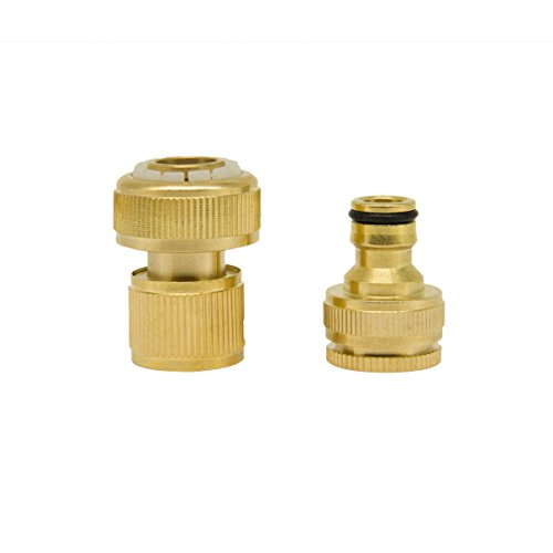 Yinuowei Quick Connect Brass Faucet Adapter Nipple Amp Hose