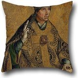 Gregory Sage - 20 X 20 Inches / 50 By 50 Cm Oil Painting Pedro Berruguete - Saint Gregory The Pope Throw Pillow Covers,twice Sides Is Fit For Family,teens Girls,gril Friend,wife,study Room