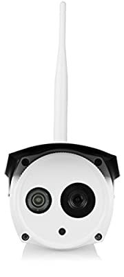 FI9803P Plug and Play 1.0 Megapixel (1280x720p) H.264 Outdoor Wireless IP Camera