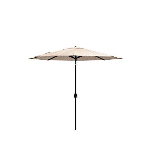 Cheap Ashley Furniture Signature Design – Umbrella Accessories Medium Auto Tilt Patio Umbrella – Beige & Gray