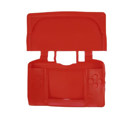 Red Silicone Sleeve Case for Nintendo DS NDS Lite NDSL