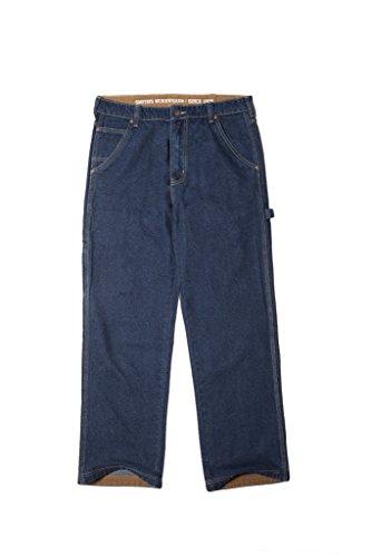 Smith's Workwear Men's Carpenter Unlined Jeans, Dark Blue, 36x32 -