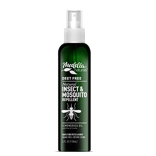 Medella Naturals Insect & Mosquito Repellent, DEET-Free All-Natural Formula, Kid and Pet Friendly, Made in the USA, 4…