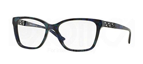 Versace Eyeglasses VE3192B 5127 Marbled Black/Green/Blue 52 16 140 (52 16 140 Brille)