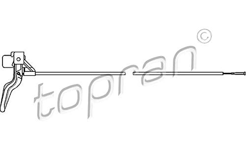TOPRAN 206 218 Motorhaubenzug