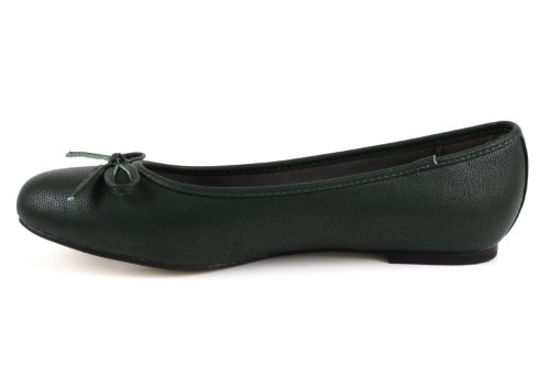 tg104 ballerines Faux Green Andres Leather Machado 4vqwxTf6