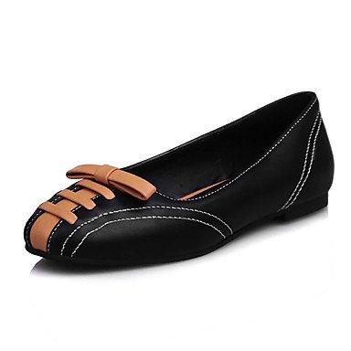 Cómodo y elegante soporte de zapatos de las mujeres pisos primavera verano otoño invierno comodidad oficina y carrera partido y vestido de noche soporte de talón cordones negro azul rojo negro