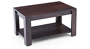 Urban Ladder Flair Mango Wood Coffee Table (Mahogany)