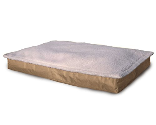 Furhaven Pet NAP Pet Bed Outdoor Fiber Pillow Dog Bed with Z