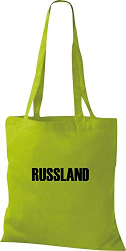Land Yute Verde Fútbol Rusia Tela De Lima Bolsa Países Shirtstown awXZqZ