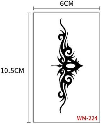 Etiqueta engomada del tatuaje impermeable Pansy Child Harajuku ...